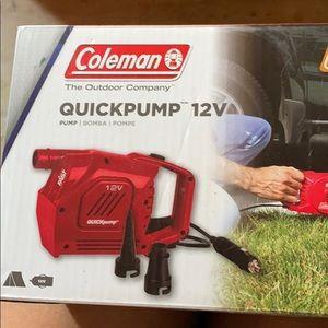 Coleman quickpump 12v